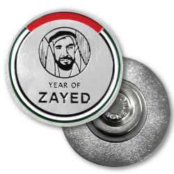 YEAR OF ZAYED'S badge making in Dubai sharjah