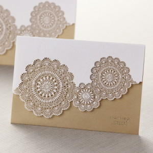 Luxury-premium-laser cutting wedding cards