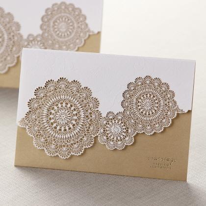 Luxury invitation cards printing press dubai luxury premium laser cutting wedding cards stopboris Gallery