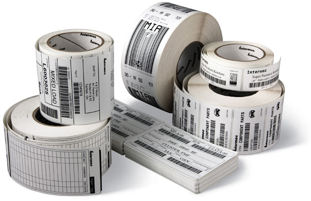 Non Removable Sticker Roll Barcode Label Roll Supplier In